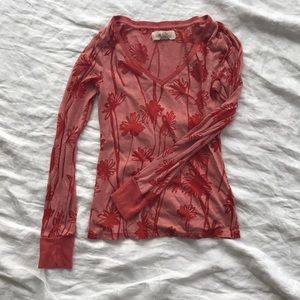 Anthropologie LILKA long sleeved shirt